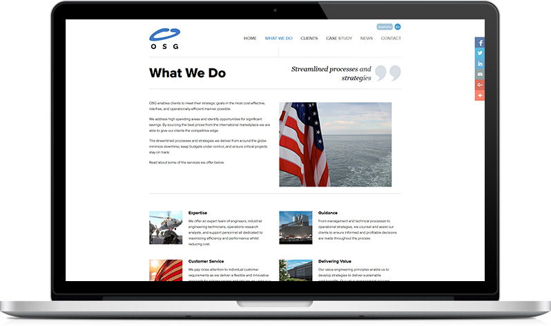 OSGPL Website - About us page