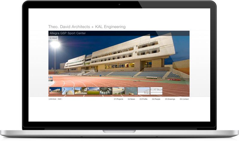 tdanyc.com - Architectural portfolio project details page